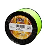 Vicious Fishing Panfish PCLP6 Fishing Line Lo-Vis Clear/9100 Yards/6 lb