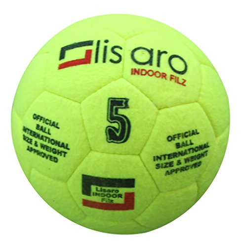 Lisaro Indoor Filz Hallenfußball Gr. 5 | Hallenball | Indoorfußball | Spielball der Extraklasse