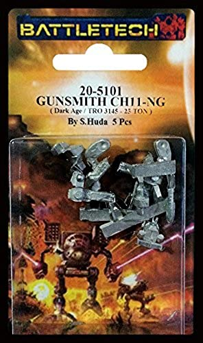 Dark Age Gunsmith Mech Miniature Iron Wind Metals by BATTLETECH