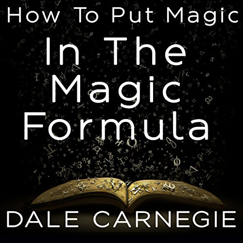 How to Put Magic in the Magic Formula audiobook cover art
