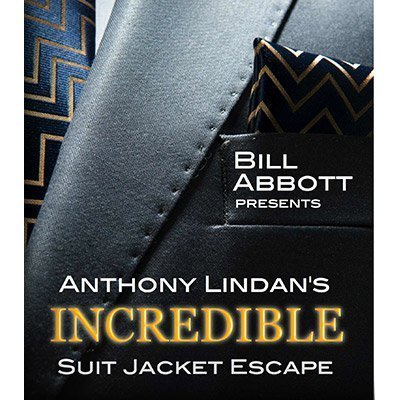 Murphy's The Incredible Suit Jacket Escape (Routine, Script & DVD) by Anthony Lindan