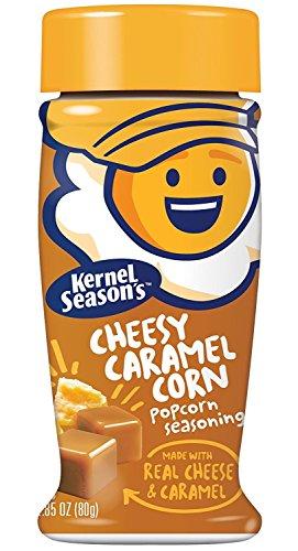 Kernel Seasons - Palomitas de maíz con queso y caramelo, 80 g