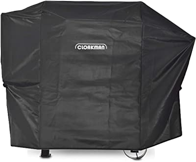 Cloakman Premium Heavy-Duty Grill Cover 73440 for Pit Boss 440D 456D Deluxe Ranch Hand 72440 72444 Wood Pellet Grill with The Side Tray