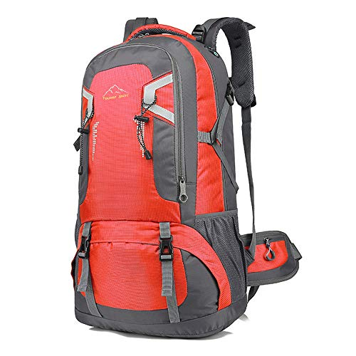 登山バッグ 登山用リュック 40L ~60L 5色選び バックパック リュックサック 大容量 リュック 登山 旅行 防災 遠足 軽量 撥水 アウトドア 男女兼用 レディース メンズ ザック (レット60L)