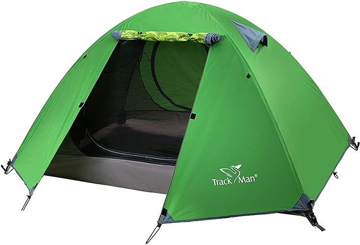 Zxr-Outdoor tent Roscloud Tente extérieure 2 Personnes Tourisme Camping Voyage Rainstorms Double Layer Field Tents