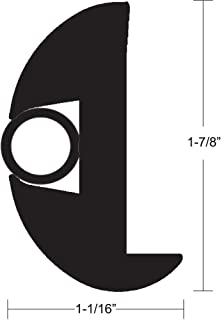 Taco Marine Standard V11-2423BBK70-2 Flexible Rub Rail Kit-1-7/8 x 1-1/8