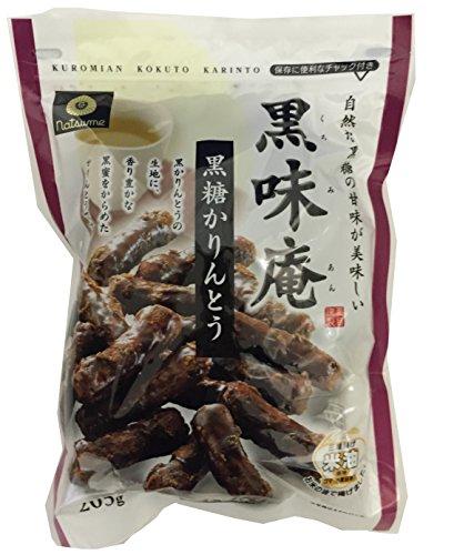夏目製菓 黒味庵 黒糖かりんとう 205g×10袋