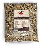 SeedzBox Mangime di Alta Qualità per Pollame- Granaglia Naturale per Galline con Gusci d'Ostrica, Miglio e Grano - Incentiva a Razzolare – Mix Ricco di Proteine, Calcio e Fibre - Sacco da 4 kg