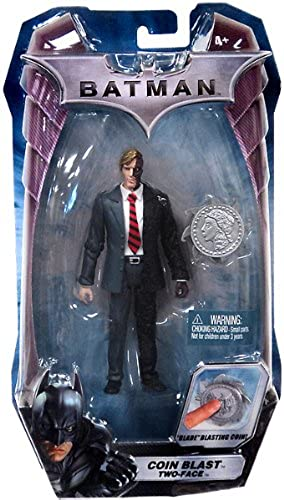 DC - Batman - The Dark Knight - Hero DC Zone - COIN BLAST TWO-FACE - 'Blade' Blasting Coin   - OVP