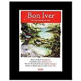 Music Ad World Mini-Poster, Motiv Bon IVER - New Album,