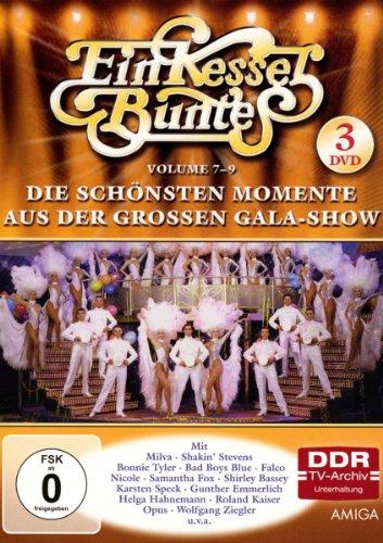 Ein Kessel Buntes - Die schönsten Momente aus der großen Gala-Show, Vol. 7-9 (DDR TV-Archiv) (3 DVDs)