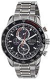 Seiko Sportura Solar Perpetual Chronograph Men's Watch