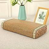 VISZC Almohada para el cuello para dormir de la cocina, espuma de memoria/té rellena de calor almohada de apoyo para el...