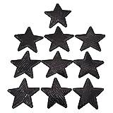 Kesheng 10pcs Parche de Lentejuelas del Diseño de Estrella para Decoración de Ropa