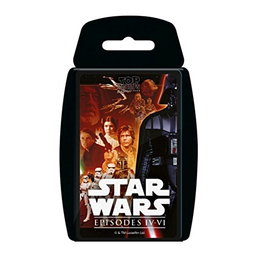 Top Trumps – Star Wars – Episode 4–6 – Quartett Kartenspiel (Englische Sprache)