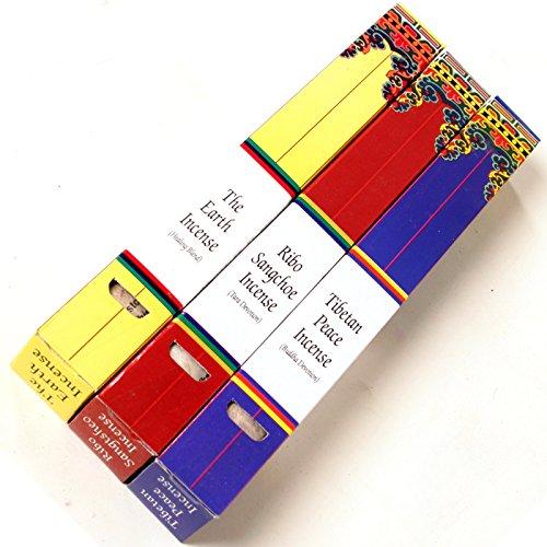 Tibetische buddhistische Räucherstäbchen 3er Set (alle drei Sorten)