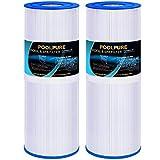 POOLPURE PLFPRB25-IN Hot Tub Filter Replace Pleatco PRB25-IN, Unicel C-4326, Guardian 413-106, Filbur FC-2375, 3005845, 17-2327, 100586, 33521, 25392, 817-2500, 5X13 Drop in Spa Filter, Pack of 2