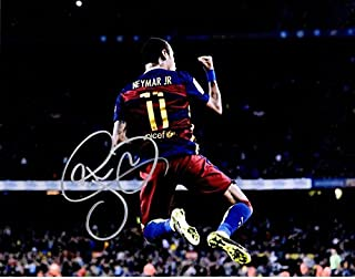 neymar signed picture
