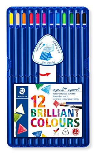 STAEDTLER(ステッドラー)『エルゴソフトアクェレル水彩色鉛筆』