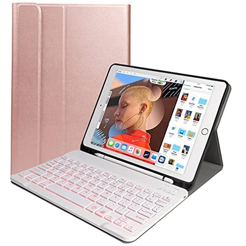 Ipad Keyboard Case 9.7,Backlit Magnetic Detachable Wireless Bluetooth...