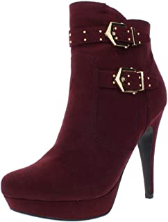 guess studded booties