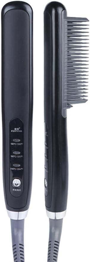 overseas GYZX PTC Heating Electric Ceramic Hair Straightener Brush Combs Tulsa Mall