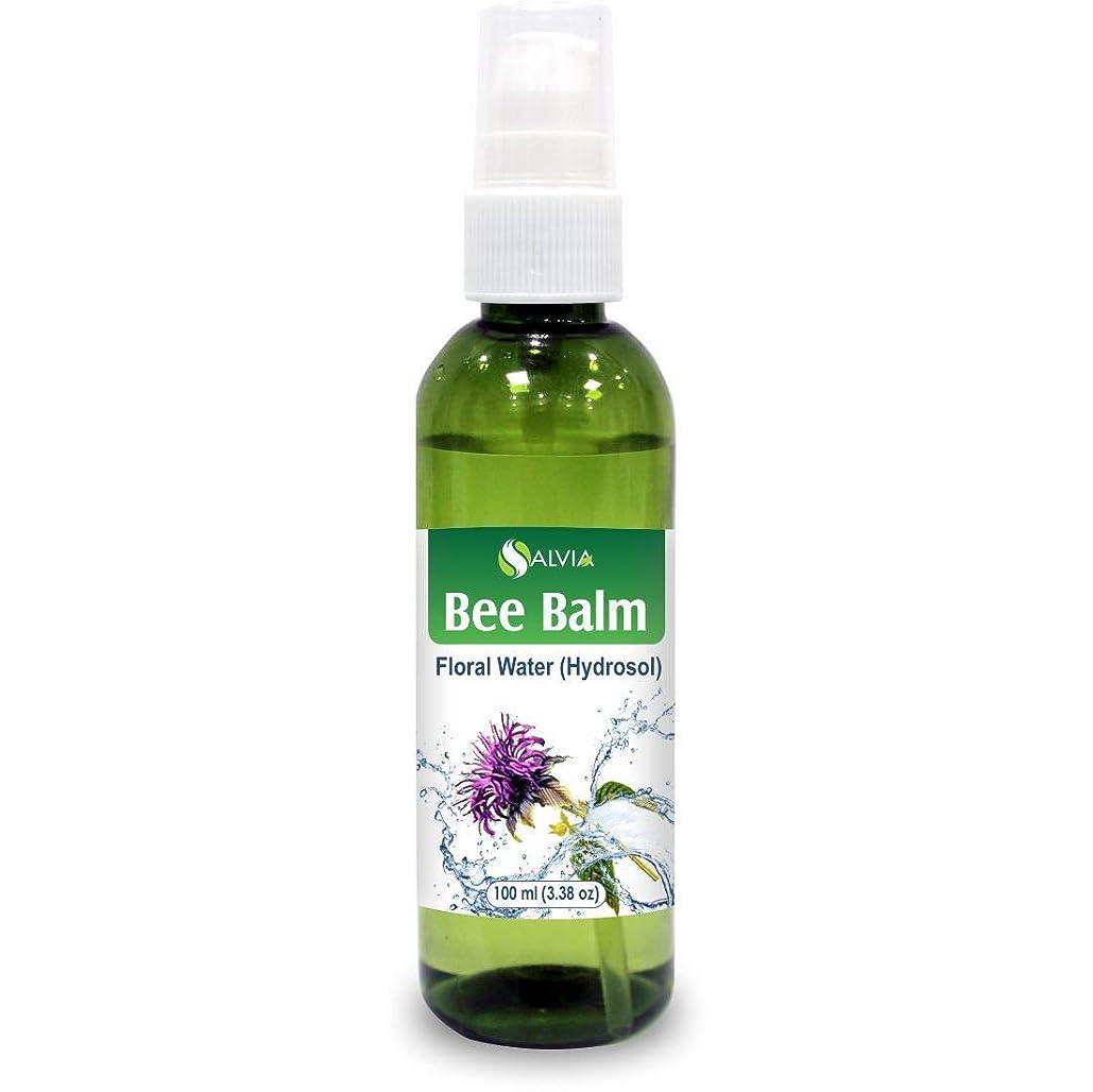 スキャン句読点すなわちBee Balm Floral Water 100ml (Hydrosol) 100% Pure And Natural