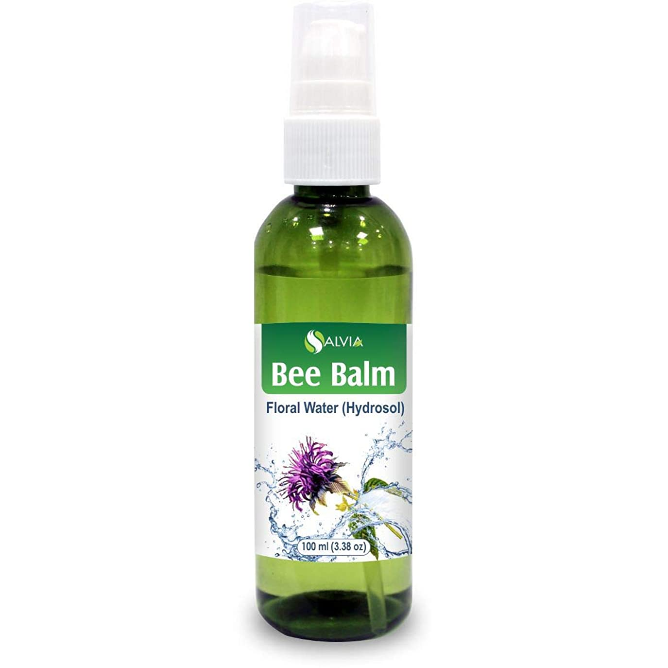 挑発する混乱補助Bee Balm Floral Water 100ml (Hydrosol) 100% Pure And Natural