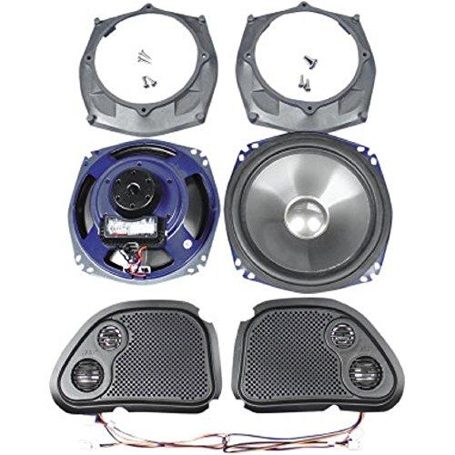 J&M Rokker XXR 7.25' Front Speakers for 1998-2013 Harley-Davidson Road Glide models -...