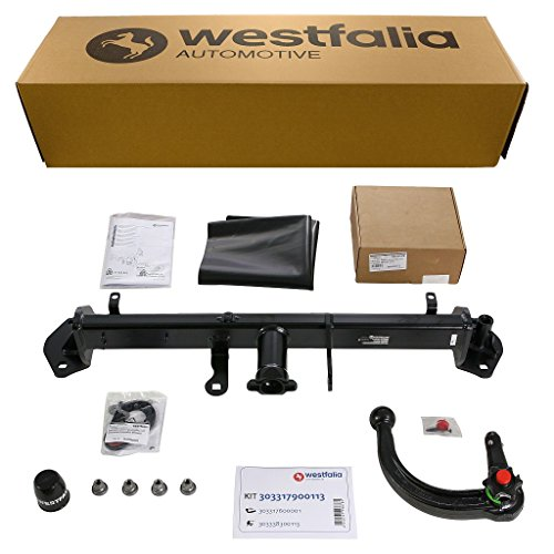 Abnehmbare Westfalia Anhängerkupplung für 1er 3-/5-Türer Steilheck F20 / F21 (BJ 09/2011-03/2011) im Set mit 13-poligem fahrzeugspezifischen Westfalia Elektrosatz