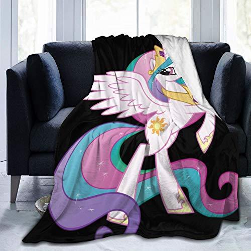 My Little Pony - Manta de franela para sofá o cama