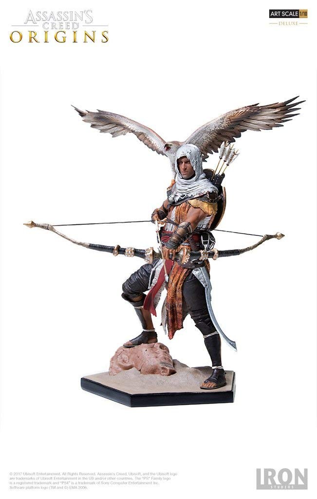 Amazon Com Bayek Deluxe Art Scale 1 10 Assassin S Creed