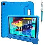 AFUNTA Funda protectora compatible con Samsung Galaxy Tab A de 10.1 pulgadas, a prueba de golpes, protección ligera y lápiz táctil, compatible con Samsung Galaxy Tab A de 10.1 pulgadas