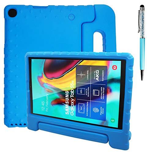 AFUNTA Funda protectora compatible con Samsung Galaxy Tab A de 10,1 pulgadas, a prueba de golpes, peso ligero y lápiz táctil, compatible con Samsung Galaxy Tab A de 10,1 pulgadas