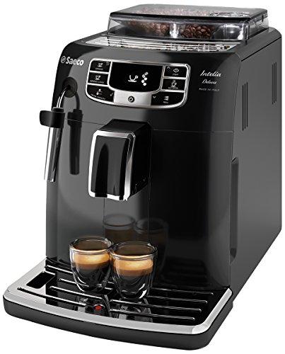 Saeco Intelia Deluxe HD8902/01 - Máquina de café espresso automática...