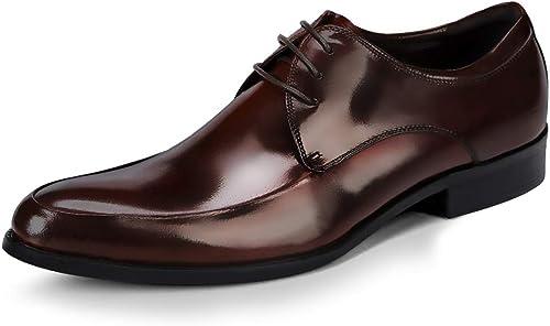 hombres, para Cuero De zapatos MOREJUN zapatos Genuino