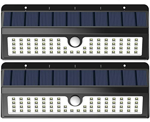 Lemontec Solar Lights, 62 LED Wall Solar Light...