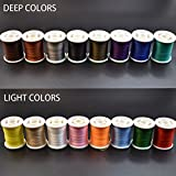 Best Fly Tying Materials - Phecda Sport 16 Colors 150 Derniers Fly Tying Review