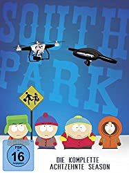 South Park - Die komplette 18. Season [DVD]