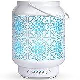 Difusor de Aceites Esenciales Blanco,SALKING 100ml Humidificador...