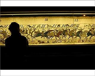robertharding 10x8 Print of Bayeux Tapestry Known in France as La Tapisserie de la Reine Mathilde (5920010)