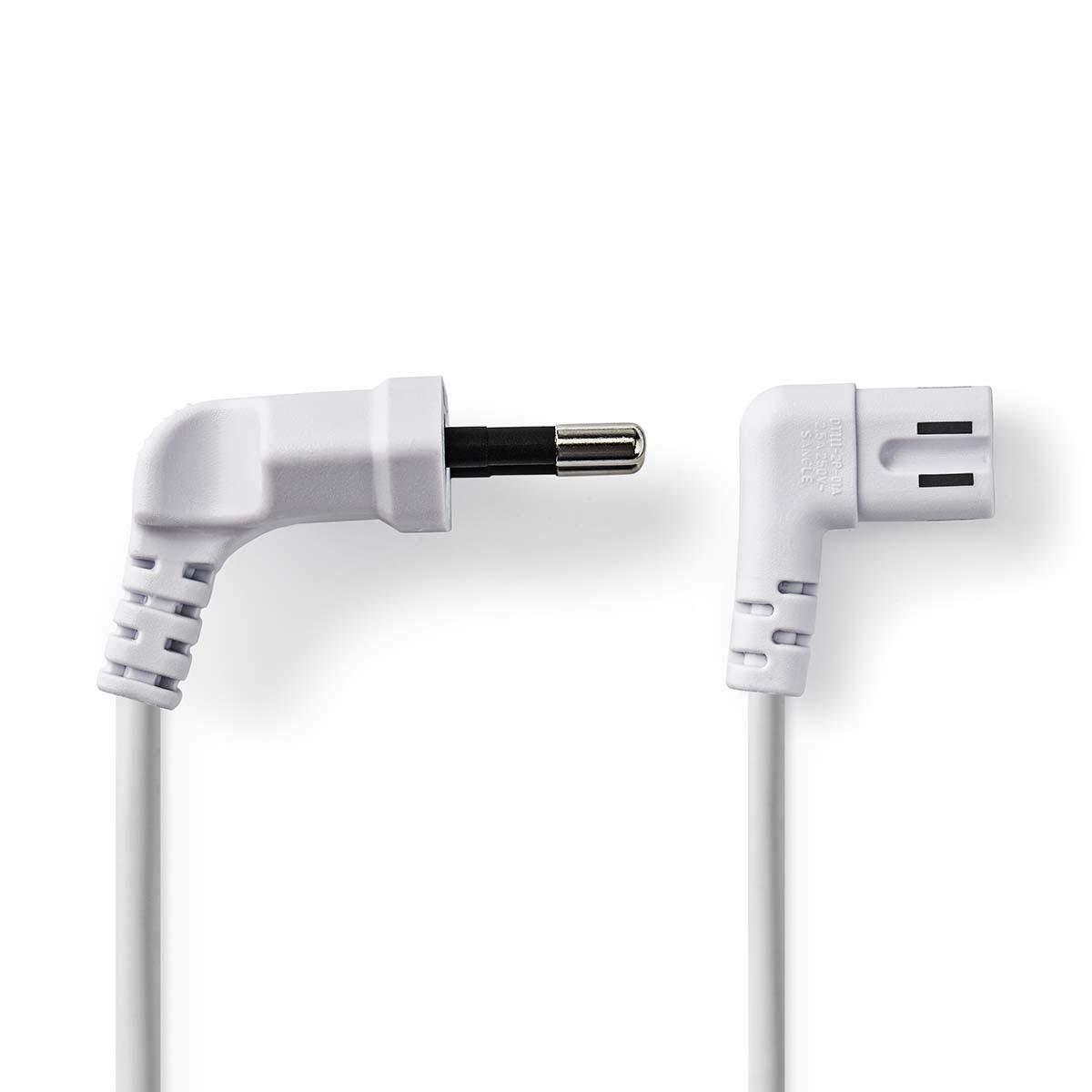 TronicXL - Cable de alimentación en ángulo para televisores y radios de Samsung LG, Panasonic (2 m): Amazon.es: Electrónica