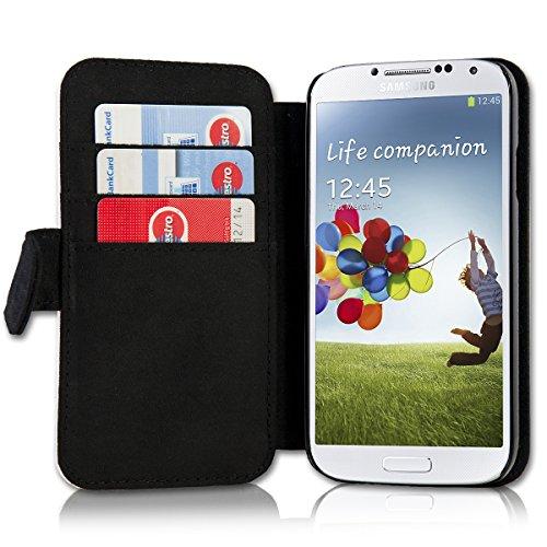 Book Style Flip Handy Tasche Case Schutz Hülle Schale Motiv Etui für Huawei Ascend Y330 - A42 Design11 - 3
