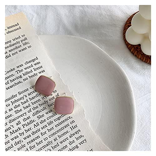 Houren Otoño Invierno Nuevo Candy Pendientes de Caramelo Vintage Matte Stud Pendientes para Las Mujeres Declaración de Moda Pendiente Trend Joyas Regalos de Año...