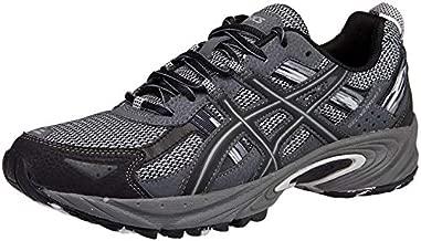 ASICS Men's Gel-Venture 5 Silver/Onyx/Black Trail Running Shoe 11 M US