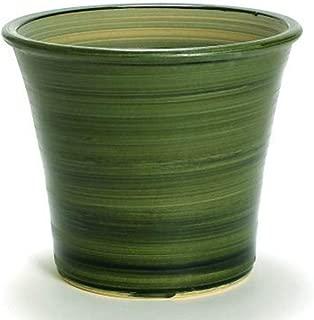 鉢 KANEYOSHI 【日本製/三河焼】 陶器 植木鉢 ブーケ グリーン 8号