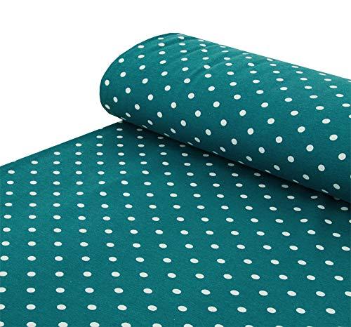 Coníferas de forro polar, puntos de puntos, suave en gris oscuro, lila, azul nocturno, gris claro, azul petróleo, negro, rojo rojizo – se vende por metros a partir de 25 cm x 150 cm – tela para coser.
