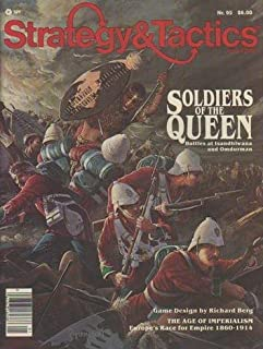 TSR: Strategy & Tactics Magazine # 95, with Soldiers of the Queen Board Game