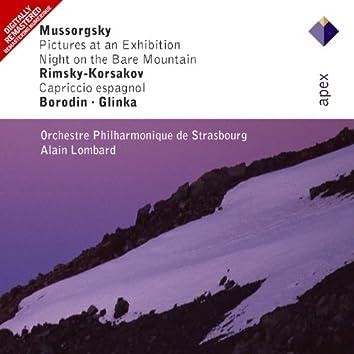 Mussorgsky, Rimsky-Korsakov, Borodin & Glinka : Russian Orchestral Favourites  -  Apex
