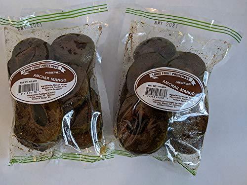 Louis - Amchar Mango 300 g (Pack of 2) Trinidad & Tobago Snack